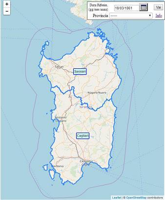 Cartina Dell Italia E I Suoi Confini.Comuni D Italia Info Su Mappa Comuni Escluse Piemonte Valle D Aosta Lombardia E Trentino Alto Adige